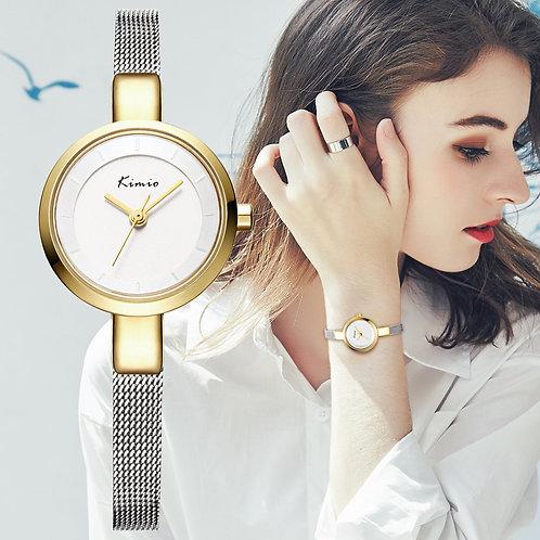 Luxury Brand Kimio Fashion Women Watches Ladies Wristwatches  Waterproof