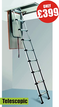 loft ladder telescopic