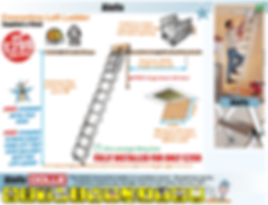 loft ladder instructions