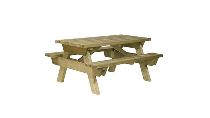 Table pique-nique CONVIVIALE - En bois autoclave