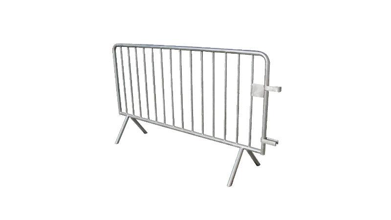 Barrière POLICE Amovible - 14 barreaux - L.2000mm