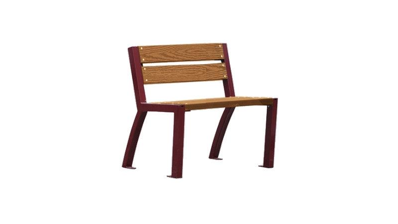 Chaise VALENCE - En lames de bois composite