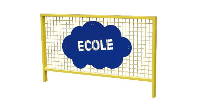 Barrière ECOLE