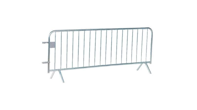 Barrière POLICE Amovible - 18 barreaux - L.2500mm