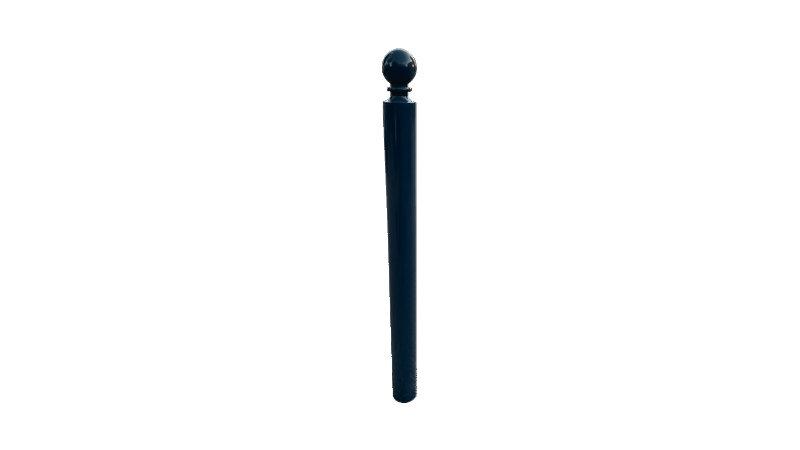 Poteau MASSANE - Ø 88,9 mm - Haute visibilité PMR