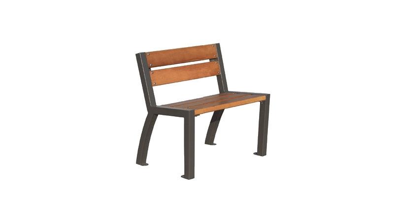 Chaise VALENCE - En lames de bois exotique