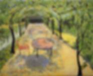 LND Napa Respite 12X14 Acrylic on canvas