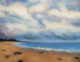 LND Sea Scene 2 16X20 Acrylic on canvas