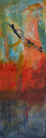 CRC Flying Trapeze 10X30 Mixed Media on