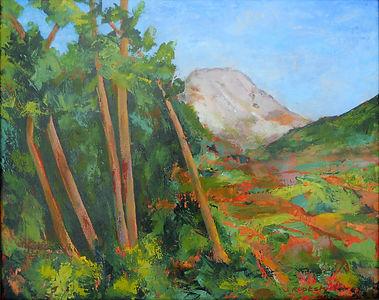 LND Thanks Cezanne 1 16X20 Acrylic on ca