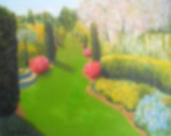 LND Filoli Spring 16x20 Acrylic on canva