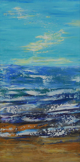 LND Windy Sea 12X24 Acrylic on canvas.JP
