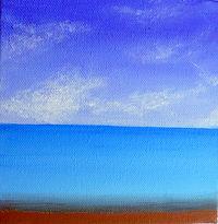 LND Sea Scene 6X6 Acrylic on canvas.JPG