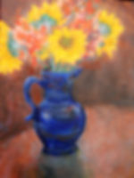 STL Blue Vase1 6X8 Acrylic on canvas.jpg