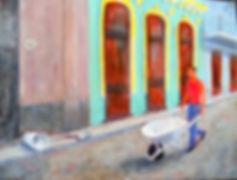 CBA Reconstruction, Old Havana 6X8 Acryl