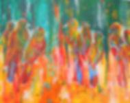 ABS Bird Watch 11X14 Acrylic on canvas (