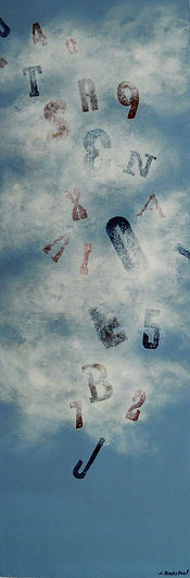 SKY Lost in the Cloud 10X30 Acrylic on c
