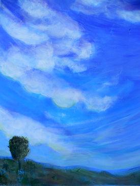 SKY Clouds I 16X20 Acrylic on canvas.jpg