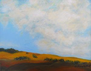 SKY East Hills 8X10 Acrylic on canvas.JP