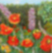 LND NY Botanical Gardens 6X6 Acrylic on