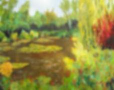 LND Lilypond 16X20 Acrylic on canvas.JPG