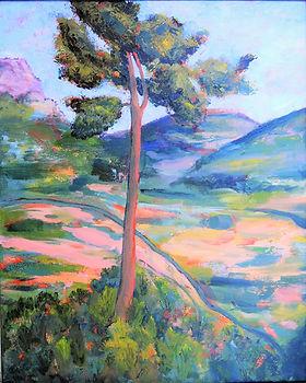 LND Thanks Cezanne 2 16X20 Acrylic on ca