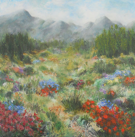 LND Spring Meadow 24X24 Acrylic on canvas.JPG