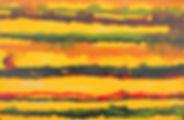 MXM PourYellow      9X15 Acrylic on boar