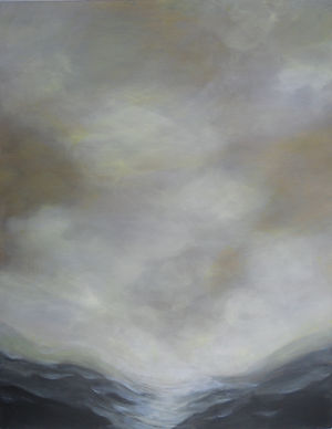 SKY Yellow Sky 24X36 Acrylic on canvas (