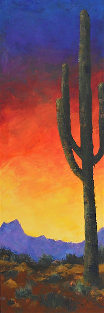 LND Saguaro 12X36 Acrylic on canvas.JPG