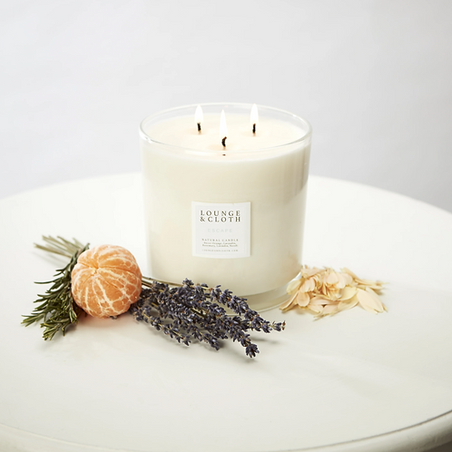Escape Energising & Stimulating | Three Wick Candle