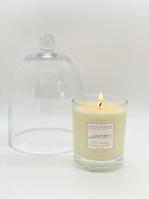 INSPIRE:  Energising, motivating & stimulating  | Home Candle