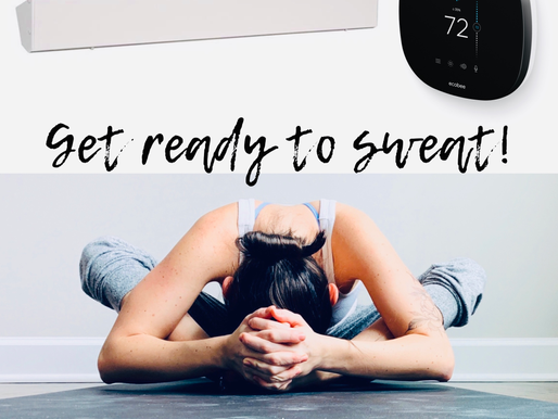 Infrared heat for the ultimate hot yoga experience