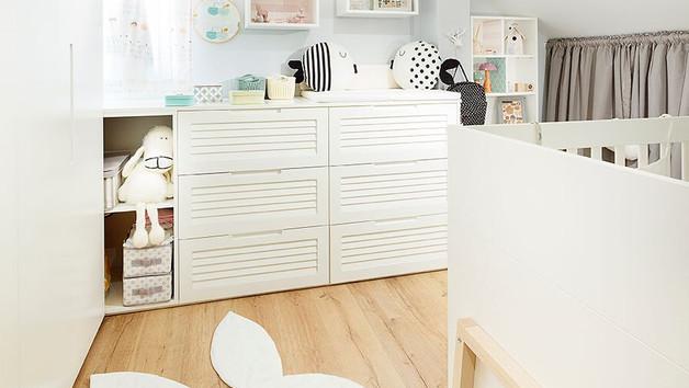 חדר לתינוקת מתוקה
