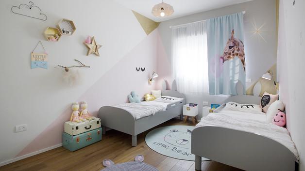 חדר לתאומות מתוקות