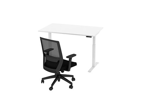 Height Adjustable Desk & Chair