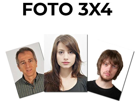 Foto 3x4cm