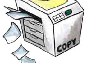 Impressão Comum e Xerox