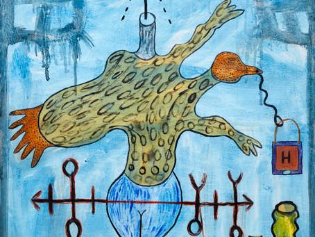 GLADYS - Der Maler und seine Geistertitled