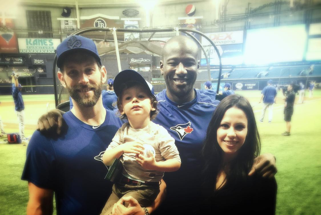 Blue Jays @ Rays home opener 2016.
