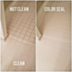 Dirty Floor and clean floor