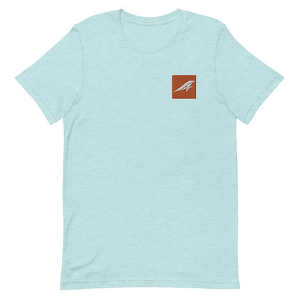 Aspire Embroidered Unisex T-Shirt