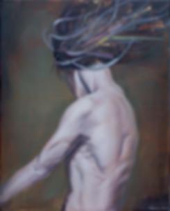 """""""Defiance""""Oil Painting by Brendan Lehman"""