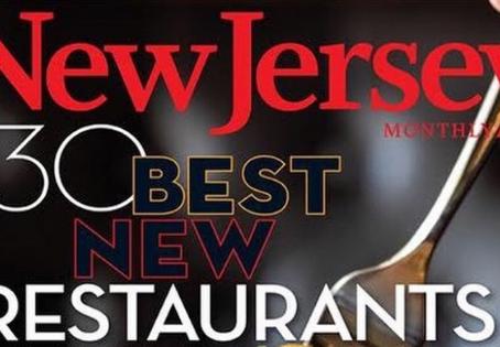 "NJ Monthly's ""The 30 Best New Restaurants"""