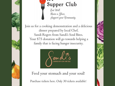 Interfaith Food Pantry Supper Club