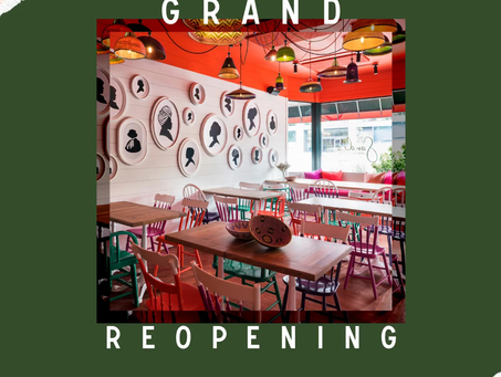 Grand Reopening on March 17th!