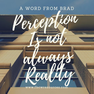 Perception Is Not Always Reality