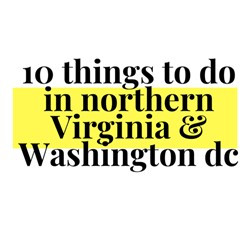 10 Things To Do in Northern Virginia & Washington D.C.
