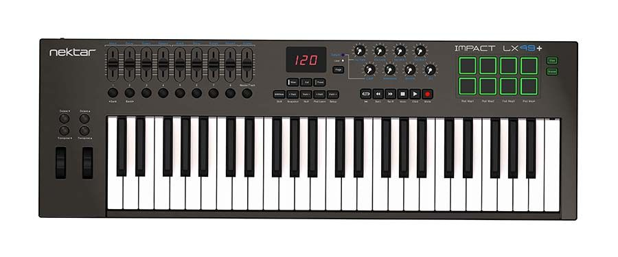 Nektar Impact LX49 MIDI Controller