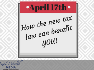 How the new tax law can benefit YOU!
